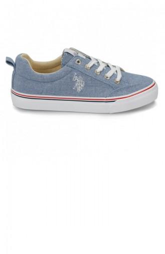 Navy Blue Sneakers 19YAYPLO0000010_C