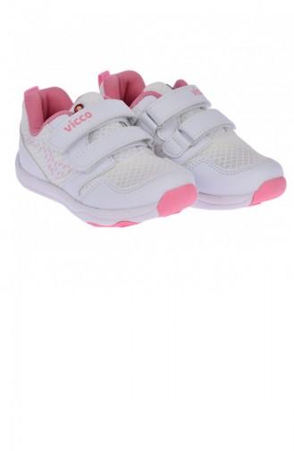 White Kinderschoenen 20YSPORVIC00001_A