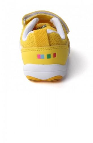 Vicco 31319K125 Günlük Kızerkek Çocuk Spor Ayakkabı Sarı 20YSPORVIC00001_SA
