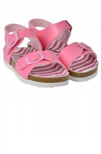 Vicco 32120Y359 Bonbon Kızerkek Çocuk Sandalet Terlik Pembe