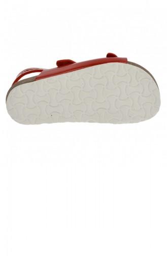 Vicco 32120Y360 Günlük Erkek Çocuk Sandalet Terlik Kırmızı