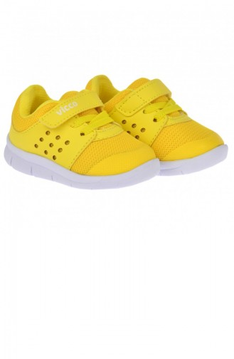 Yellow Children`s Shoes 20YSPORVIC00002_SA