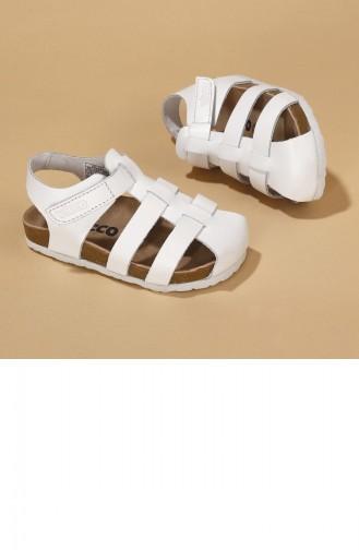 White Kinderschoenen 20YSANVIC000012_A