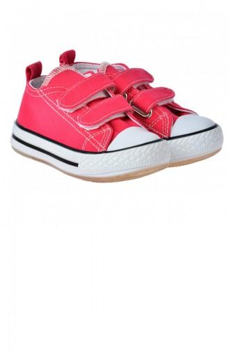 Vicco 92520Y150 Günlük Işıklı Kızerkek Çocuk Keten Ayakkabı Fuşya