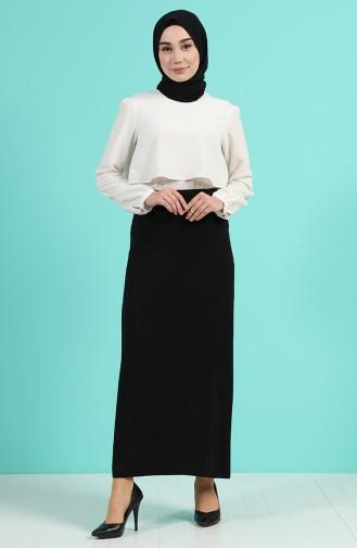 تنورة أسود 1308-02