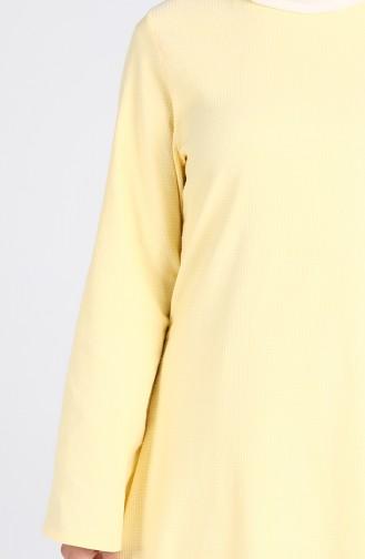فستان أصفر 1411-04