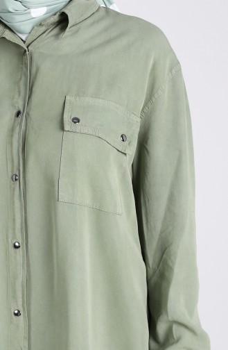 Tunique Vert noisette 1079-02