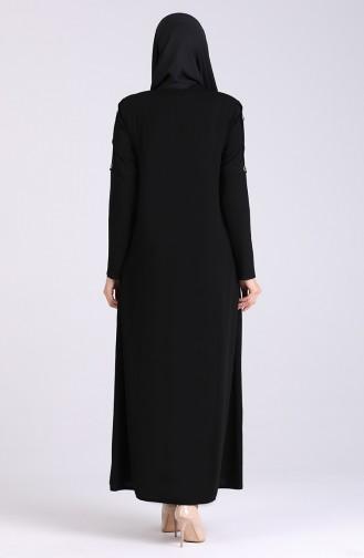 Black Abaya 5004-01