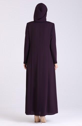 Purple Abaya 5026-02