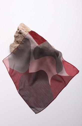 Claret red Scarf 61605-01