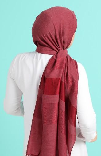 Claret Red Shawl 13189-03