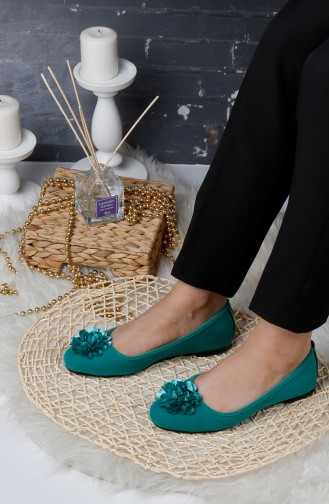 Water Green House Shoes 0175-13