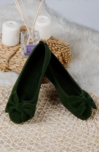 Chaussures de Maison Khaki 0176-04