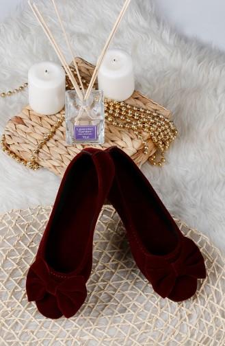 Chaussures de Maison Bordeaux 0176-07