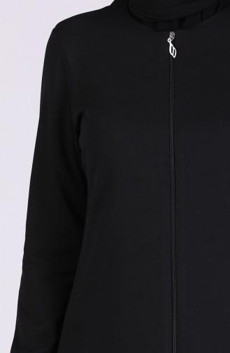 Black Abaya 3058-02