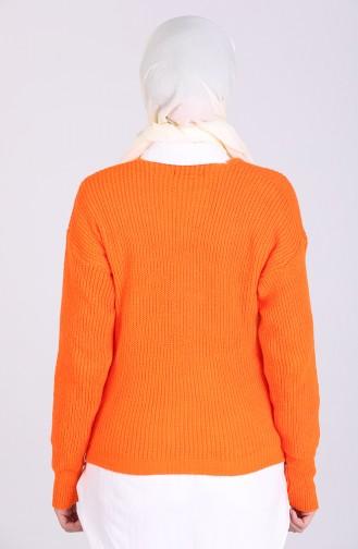 Orange Pullover 0600-04