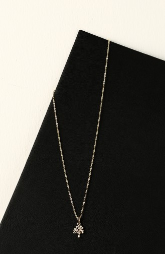 Collier Couleur Or 047-03