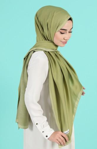 Light Khaki Green Shawl 13190-11