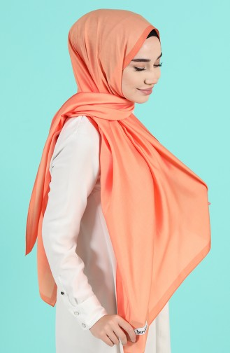 Pale Orange Shawl 13190-19