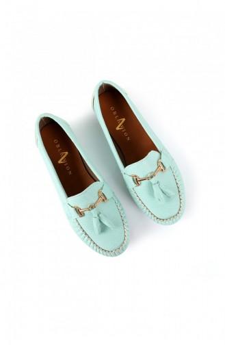 Minzengrün Tägliche Schuhe 01040200434