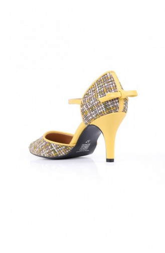 Yellow High Heels 703.SARI
