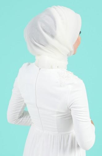 Cream Ready to wear Turban 1143-02