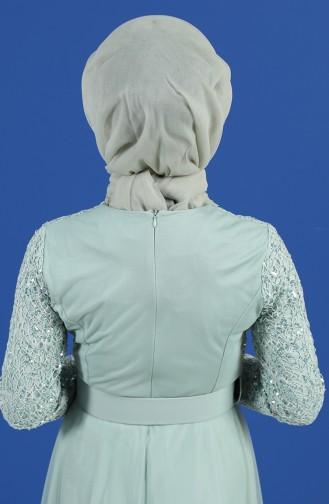 Unreife Mandelgrün Praktischer Turban 1143-05