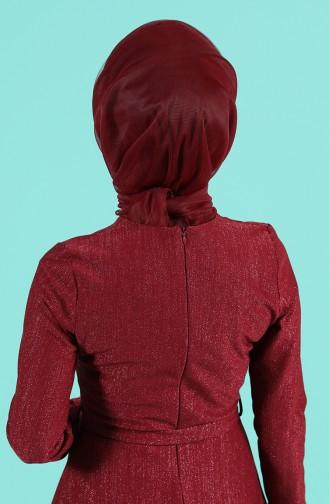 على استعداد لارتداء التوربان أحمر كلاريت 1143-15
