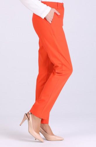 بنطال برتقالي مائل للحمرة 3322PNT-06