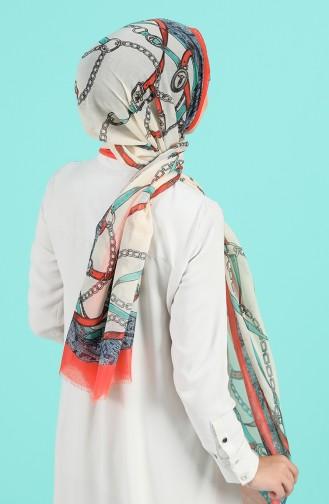 Orange Sjaal 25500-07