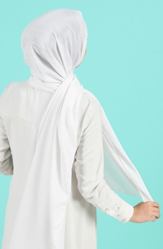 White Sjaal 4789-01