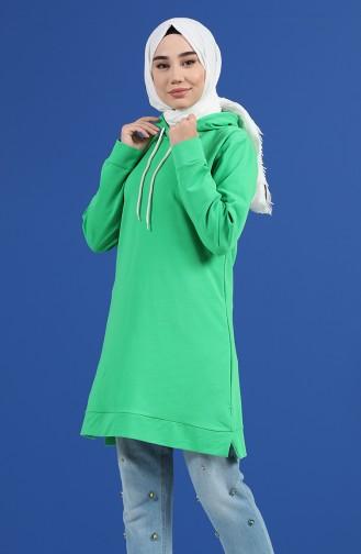 Sweatshirt Vert 20044-04
