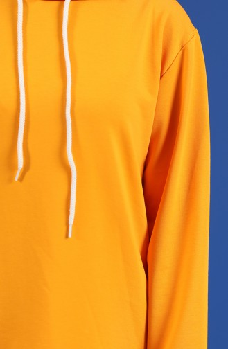 Sweatshirt Orange 20044-08
