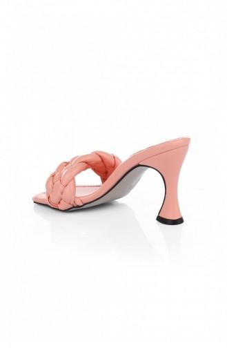 Salmon Summer slippers 1628.SOMON
