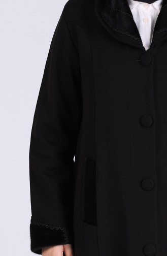 Black Lange Jas 0609-01
