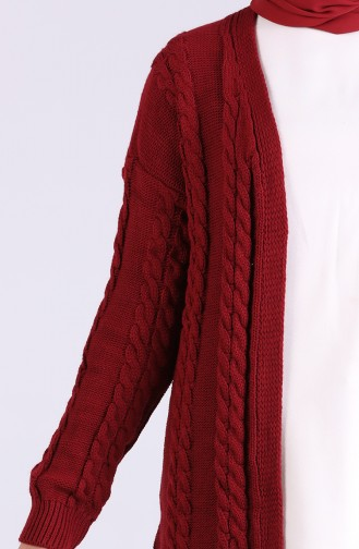 Weinrot Pullover 0604-02