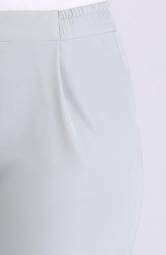 Pileli Pantolon 4283PNT-09 Su Yeşili