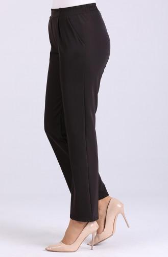 Pleated Pants 4283pnt-10 Dark Brown 4283PNT-10