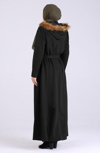 Pardessus Noir 5067-02