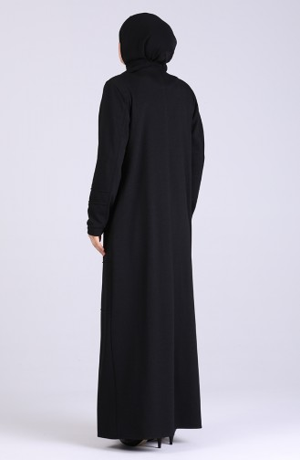 Pardessus Noir 5068-01