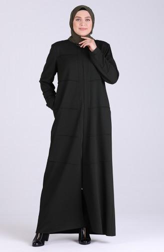 معطف فوقي أخضر زمردي 5068-03