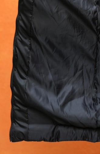 Gilet Sans Manches Noir 1468-03