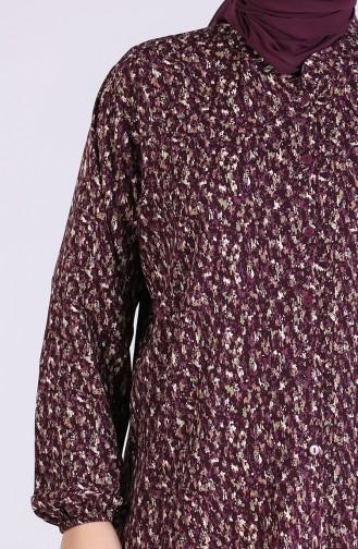 قميص ارجواني داكن 1060A-01