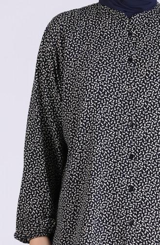 Chemise Noir 1060D-01