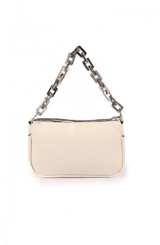 Beige Shoulder Bag 207Z-04