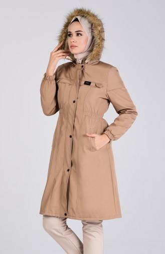 Beige Coats 0128-01