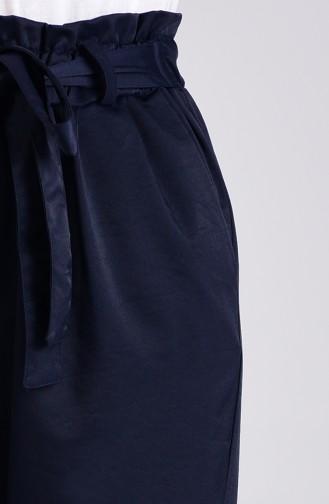 Double Paça Pantolon 4005-03 Lacivert
