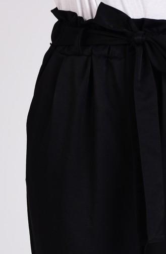 Double Paça Pantolon 4005-05 Siyah