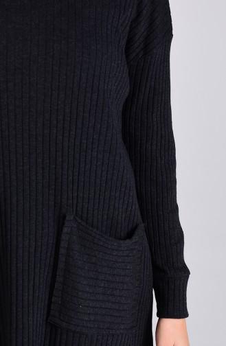 Cepli Tunik Pantolon İkili Takım 8146-07 Antrasit