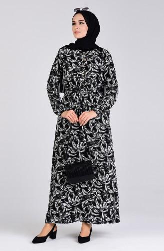Robe Hijab Noir 6002-02